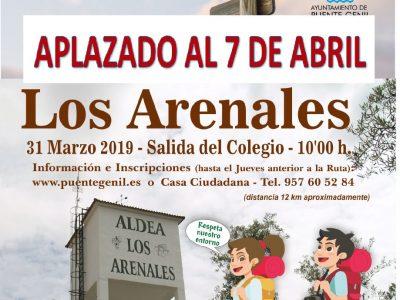 7 Senderismo Los Arenales