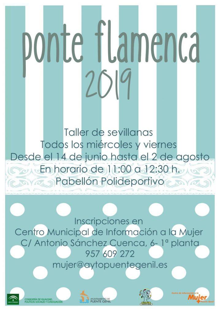 Abiertas Las Inscripciones Para Participar En El Taller Ponte Flamenca 2019 De La Delegación De Igualdad.