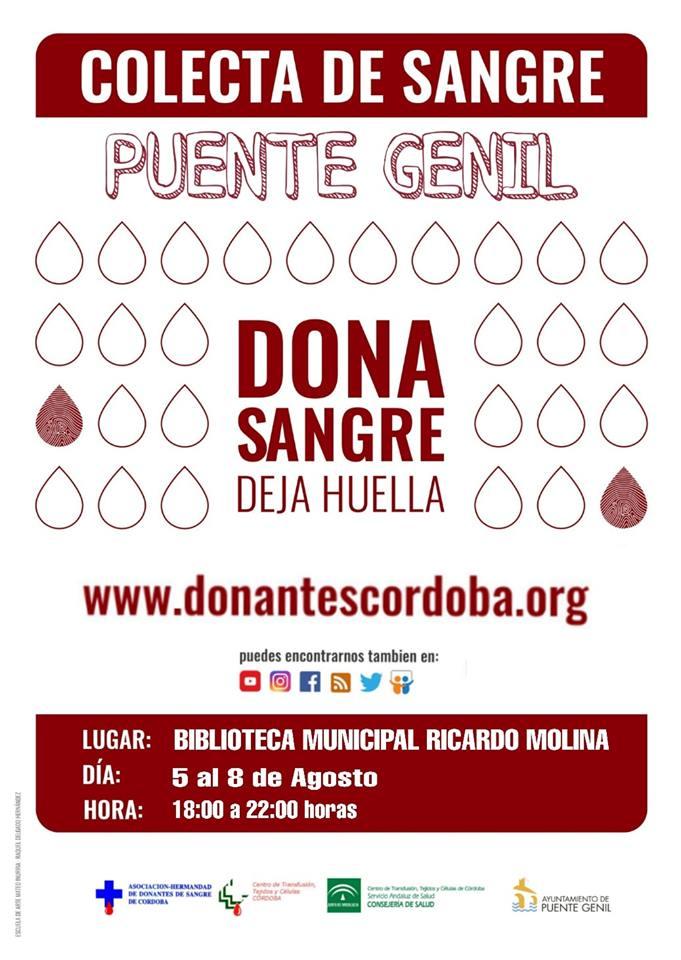 Campaña De Donación De Sangre – Agosto 2019