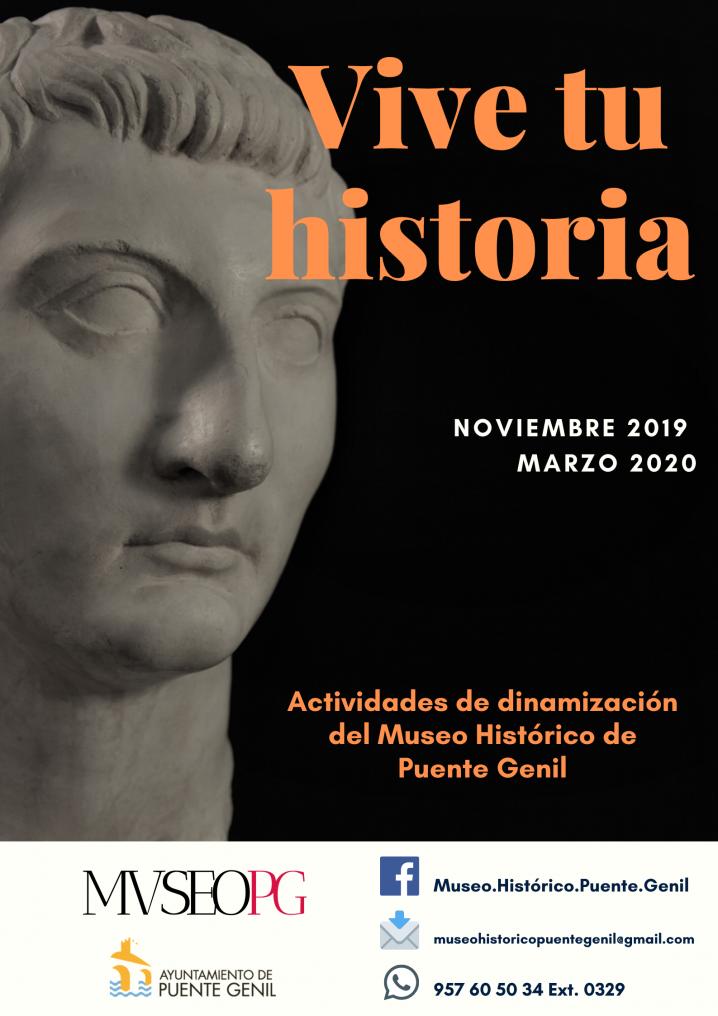 Arranca El Programa «Vive Tu Historia» En El Museo De Puente Genil.