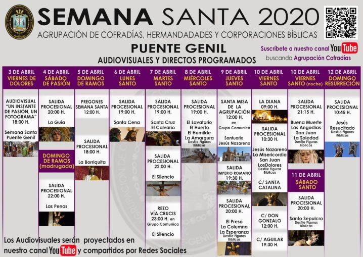 La Agrupación De Cofradías Ofrecerá Una Mananta Virtual En Su Canal De Youtube.